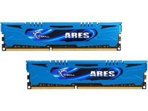 G.SKILL Ares Series 16GB (2 x 8GB) 240-Pin DDR3 SDRAM DDR3 1600 (PC3 12800) Intel Z87/ Z77/ Z68/ P67 Memory Model F3-1600C10D-16GAB