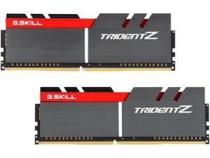 G.SKILL TridentZ Series 16GB (2 x 8GB) 288-Pin DDR4 SDRAM DDR4 3200 (PC4 25600) Intel Z170 Platform Desktop Memory Model F4-3200C16D-16GTZ