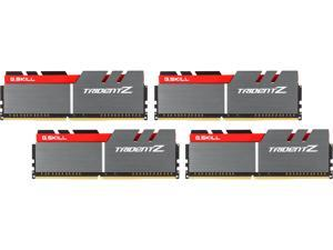 G.SKILL TridentZ Series 16GB (4 x 4GB) 288-Pin DDR4 SDRAM DDR4 3866 (PC4 30900) Intel Z170 Platform Desktop Memory Model F4-3866C18Q-16GTZ