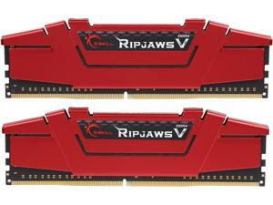 G.SKILL Ripjaws V Series 16GB (2 x 8GB) 288-Pin DDR4 SDRAM DDR4 3200 (PC4 25600) Intel Z170 Platform Desktop Memory Model F4-3200C16D-16GVRB