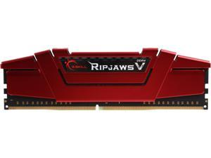 G.SKILL Ripjaws V Series 8GB 288-Pin DDR4 SDRAM DDR4 2400 (PC4 19200) Intel Z170 Platform / Intel X99 Platform Desktop Memory Model F4-2400C15S-8GVR