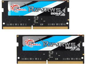 G.SKILL Ripjaws Series 8GB (2 x 4GB) 260-Pin DDR4 SO-DIMM DDR4 2133 (PC4 17000) Laptop Memory Model F4-2133C15D-8GRS