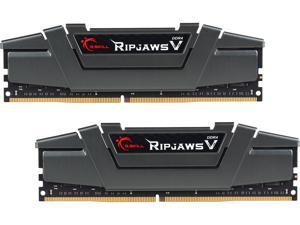 G.SKILL Ripjaws V Series 16GB (2 x 8GB) 288-Pin DDR4 SDRAM DDR4 3200 (PC4 25600) Intel Z170 Platform Desktop Memory ...
