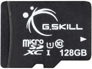 G.Skill 128GB microSDXC UHS-I/U1 Class 10 Memory Card with Adapter (FF-TSDXC128GA-U1)