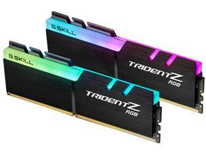 G.SKILL TridentZ RGB Series 16GB (2 x 8GB) 288-Pin DDR4 SDRAM DDR4 2400 (PC4 19200) Desktop Memory Model F4-2400C15D-16GTZR