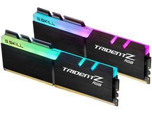 G.SKILL TridentZ RGB Series 16GB (2 x 8GB) 288-Pin DDR4 SDRAM DDR4 3000 (PC4 24000) Memory (Desktop Memory) Model F4-3000C16D-16GTZR