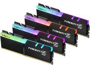 G.SKILL TridentZ RGB Series 32GB (4 x 8GB) 288-Pin DDR4 SDRAM DDR4 3000 (PC4 24000) Memory (Desktop Memory) Model F4-3000C16Q-32GTZR