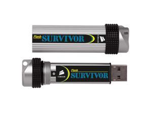 CORSAIR 16GB Flash Survivor Ultra Rugged USB 2.0 Drive