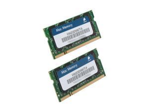 CORSAIR 4GB (2 x 2GB) 200-Pin DDR2 SO-DIMM DDR2 667 (PC2 5300) Dual Channel Kit Memory For Apple Notebook Model VSA4GSDSKIT667C4