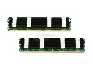 CORSAIR 4GB (2 x 2GB) 240-Pin DDR2 FB-DIMM DDR2 667 (PC2 5300) Dual Channel Kit Memory For Apple Model VSA4GBKITFB667D2