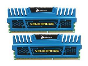 CORSAIR Vengeance 4GB (2 x 2GB) 240-Pin DDR3 SDRAM DDR3 1600 (PC3 12800) Desktop Memory Model CMZ4GX3M2A1600C9B