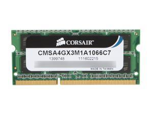 CORSAIR 4GB DDR3 1066 (PC3 8500) Memory for Apple Model CMSA4GX3M1A1066C7