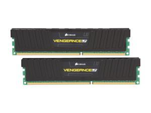 CORSAIR Vengeance LP 8GB (2 x 4GB) 240-Pin DDR3 SDRAM DDR3 1600 (PC3 12800) Low Profile Desktop Memory Model CML8GX3M2A1600C9
