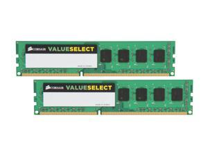 CORSAIR ValueSelect 8GB (2 x 4GB) 240-Pin DDR3 SDRAM DDR3 1333 Desktop Memory Model CMV8GX3M2A1333C9