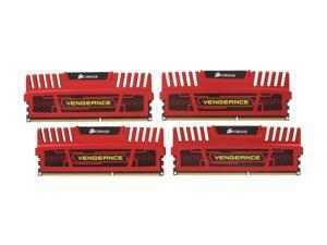 CORSAIR Vengeance 8GB (4 x 2GB) 240-Pin DDR3 SDRAM DDR3 1600 Desktop Memory