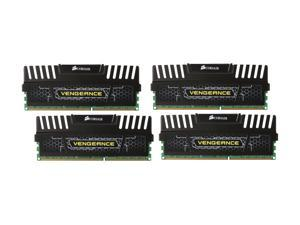 CORSAIR Vengeance 32GB (4 x 8GB) 240-Pin DDR3 SDRAM DDR3 1866 (PC3 14900) Desktop Memory Model CMZ32GX3M4X1866C10