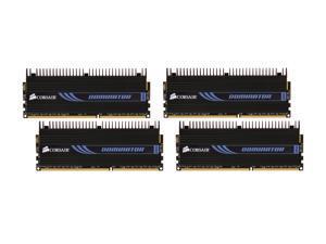 CORSAIR DOMINATOR 16GB (4 x 4GB) 240-Pin DDR3 SDRAM DDR3 1600 (PC3 12800) Desktop Memory Model CMP16GX3M4X1600C7