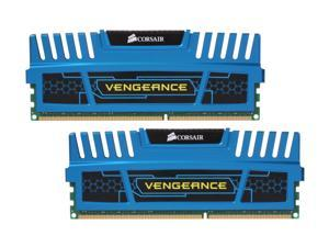 CORSAIR Vengeance 8GB (2 x 4GB) 240-Pin DDR3 SDRAM DDR3 1600 (PC3 12800) Desktop Memory Model CMZ8GX3M2X1600C8B