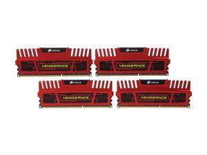 CORSAIR Vengeance 16GB (4 x 4GB) 240-Pin DDR3 SDRAM DDR3 2133 Desktop Memory Model CMZ16GX3M4X2133C11R