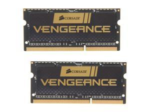 CORSAIR Vengeance 16GB (2 x 8G) 204-Pin DDR3 SO-DIMM DDR3 1600 (PC3 12800) Laptop Memory Model CMSX16GX3M2A1600C10