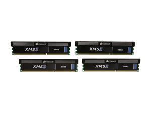 CORSAIR XMS 32GB (4 x 8GB) 240-Pin DDR3 SDRAM DDR3 1600 (PC3 12800) Desktop Memory Model CMX32GX3M4A1600C11