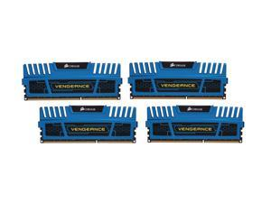 CORSAIR Vengeance 16GB (4 x 4GB) 240-Pin DDR3 SDRAM DDR3 2133 Desktop Memory Model CMZ16GX3M4A2133C11B
