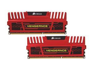 CORSAIR Vengeance 16GB (2 x 8GB) 240-Pin DDR3 SDRAM DDR3 1600 (PC3 12800) Desktop Memory Model ...