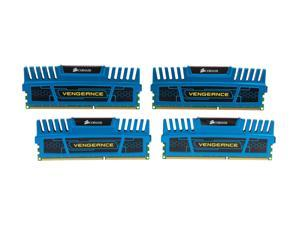 CORSAIR Vengeance 16GB (4 x 4GB) 240-Pin DDR3 SDRAM DDR3 1866 Desktop Memory