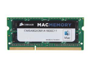 CORSAIR 8GB DDR3 1600 (PC3 12800) Memory for Apple Model CMSA8GX3M1A1600C11