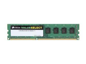 CORSAIR 8GB 240-Pin DDR3 SDRAM DDR3 1600 (PC3 12800) Desktop Memory Model CMV8GX3M1A1600C11