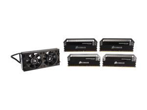 CORSAIR Dominator Platinum 16GB (4 x 4GB) 240-Pin DDR3 SDRAM DDR3 2800 (PC3 22400) Desktop Memory