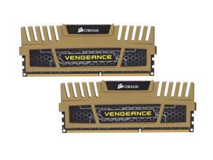 CORSAIR Vengeance 16GB (2 x 8GB) 240-Pin DDR3 SDRAM DDR3 1600 (PC3 12800) Desktop Memory Model CMZ16GX3M2A1600C9G