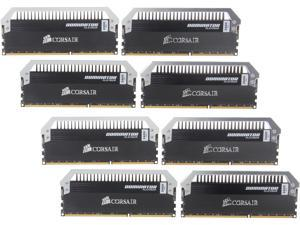 CORSAIR Dominator Platinum 64GB (8 x 8GB) 240-Pin DDR3 SDRAM DDR3 2400 (PC3 19200) Desktop Memory