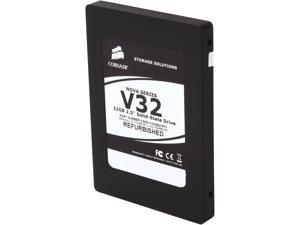 "Manufacturer Recertified Corsair Nova CSSD-V32GB2/RF2 2.5"" 32GB SATA II Internal Solid State Drive (SSD)"