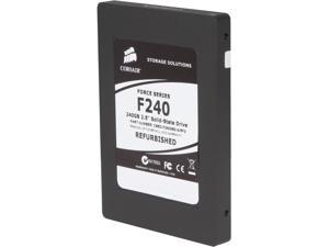 "Manufacturer Recertified Corsair Force CSSD-F240GB2-A/RF2 2.5"" 240GB SATA II MLC Internal Solid State Drive (SSD)"