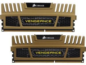 CORSAIR Vengeance 8GB (2 x 4GB) 240-Pin DDR3 SDRAM DDR3 1600 (PC3 12800) Desktop Memory Model CMZ8GX3M2B1600C9G