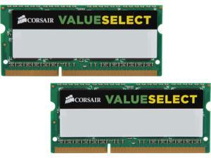 CORSAIR ValueSelect 16GB (2 x 8G) 204-Pin DDR3 SO-DIMM DDR3L 1600 (PC3L 12800) Laptop Memory Model CMSO16GX3M2C1600C11