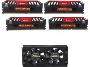 CORSAIR Vengeance Pro 16GB (4 x 4GB) 240-Pin DDR3 SDRAM DDR3 2800 Desktop Memory Model CMY16GX3M4B2800C12R