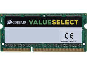 CORSAIR ValueSelect 8GB 204-Pin DDR3 SO-DIMM DDR3L 1333 (PC3L 10600) Laptop Memory Model CMSO8GX3M1C1333C9