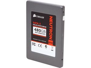 "Corsair Neutron Series GTX 2.5"" 480GB SATA III Internal Solid State Drive (SSD) CSSD-N480GBGTX-BK"