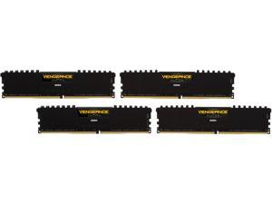 CORSAIR Vengeance LPX 16GB (4 x 4GB) 288-Pin DDR4 SDRAM DDR4 2400 (PC4 19200) C14 Memory Kit - Black Model CMK16GX4M4A2400C14