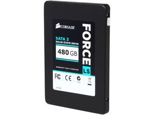 "Corsair Force LS 2.5"" 480GB SATA III MLC Internal Solid State Drive (SSD) CSSD-F480GBLSB"