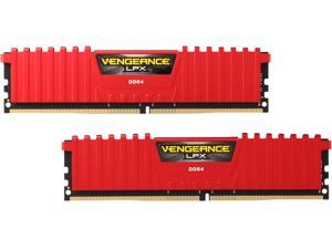 Corsair Vengeance LPX 16GB (2 x 8GB) DDR4 288-pin UDIMM Desktop Memory (Red)