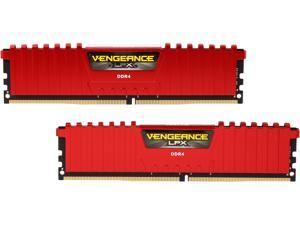 CORSAIR Vengeance LPX 16GB (2 x 8GB) 288-Pin DDR4 SDRAM DDR4 2666 (PC4 21300) Desktop Memory Model CMK16GX4M2A2666C16R