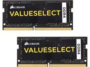 CORSAIR ValueSelect 32GB (2 x 16G) 260-Pin DDR4 SO-DIMM DDR4 2133 (PC4 17000) Laptop Memory Model CMSO32GX4M2A2133C15