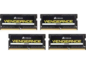 CORSAIR Vengeance Performance 64GB (4 x 16G) 260-Pin DDR4 SO-DIMM DDR4 2666 (PC4 21300) Laptop Memory Model CMSX64GX4M4A2666C18