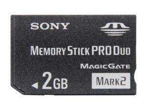 SONY 2GB Memory Stick Pro Duo (MS Pro Duo) Flash Card