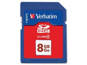 Verbatim 8 GB Secure Digital High Capacity (SDHC) - 1 Card