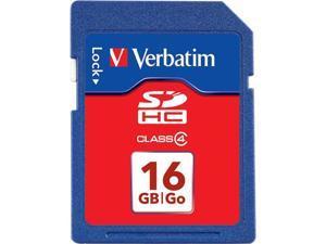 Verbatim 16GB Secure Digital High-Capacity (SDHC) Flash Card