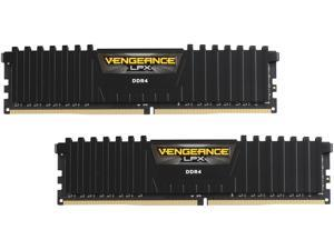 CORSAIR Vengeance LPX 16GB (2 x 8GB) DDR4 2400 (PC4-19200) C16 1.2V for AMD Ryzen and Intel 200 - Black